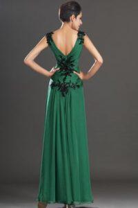 Robe de soiree chic verte