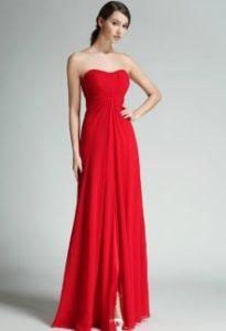Robe de soiree chic rouge