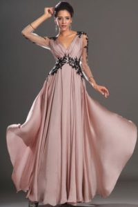 Robe de soiree chic rose