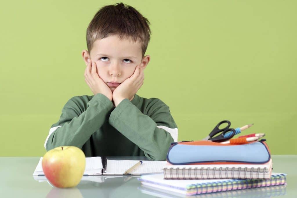 concentration chez l'enfant