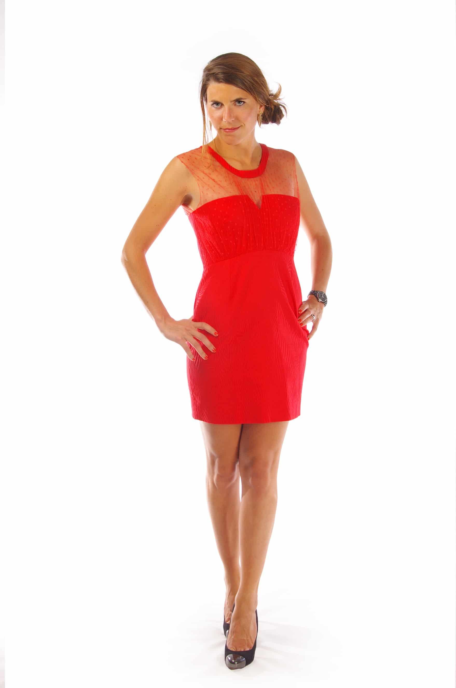 895ca5058ac7 Robe rouge   La robe qu il vous faut pour être élégante