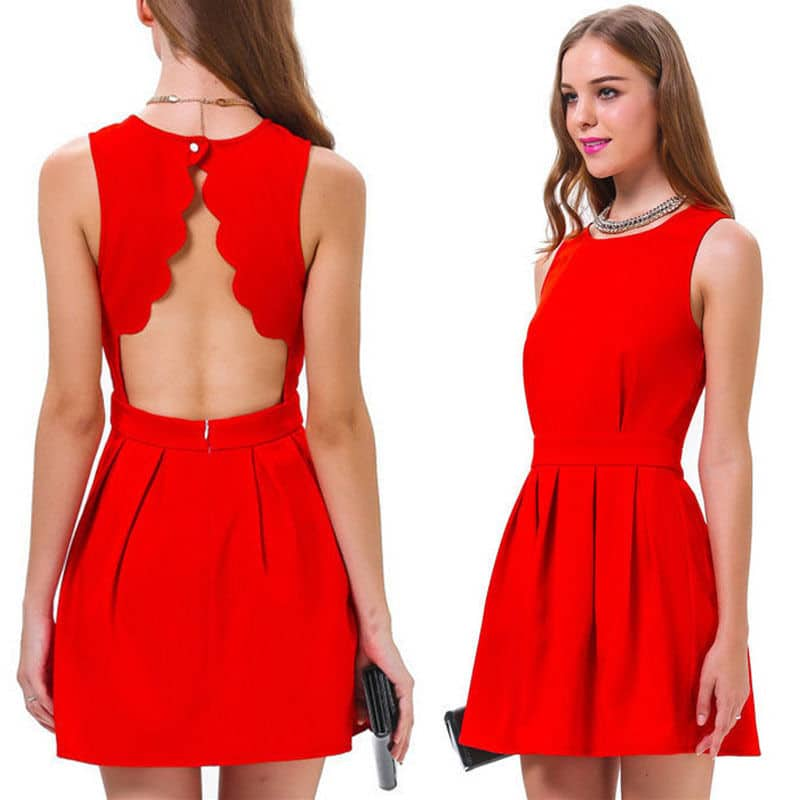 ab67a4c37f6a Robe rouge   La robe qu il vous faut pour être élégante