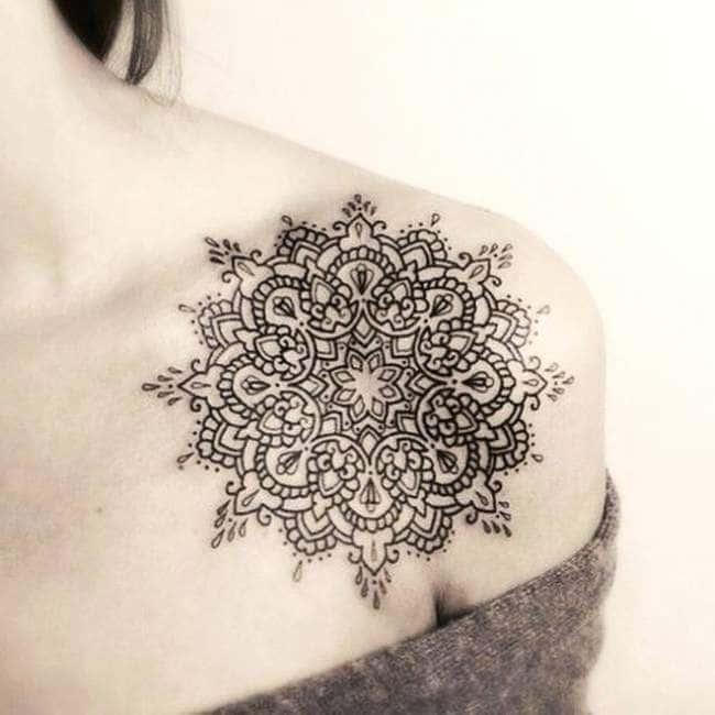 300 idées de tatouages mandala homme/femme • signification tattoo