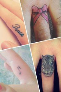 Tatouage doigt modele