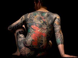 Tatouage japonais tout le corps