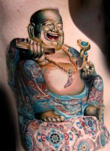 Tatouage japonais boudha
