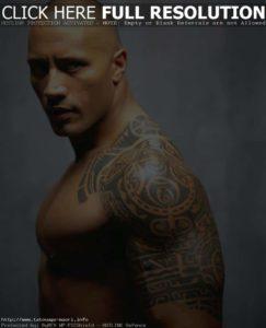 Tatouage de maorie epaule