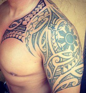 Tatouage de maorie