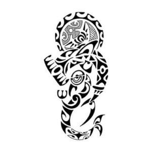 Tatouage de maorie dessin