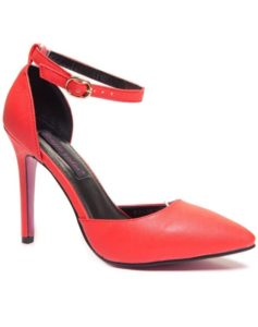 Escarpin couleur rouge