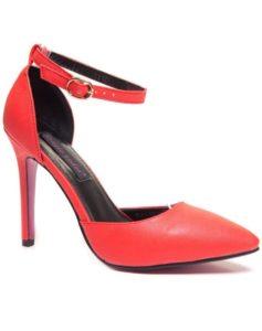 Escarpin couleur rouge