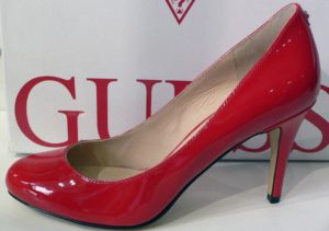 Escarpin rouge guess