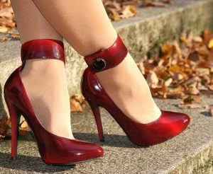 Escarpin rouge