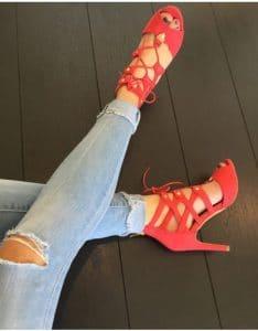 Escarpin rouge classique