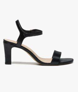 Escarpins noir sandale