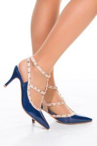 Escarpins bleu