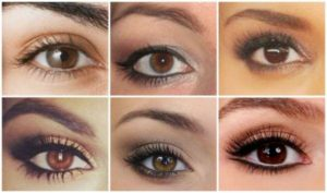 Maquillage nude pour yeux marron tuto