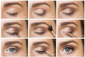 Maquillage pour yeux marron tuto