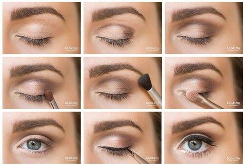 Maquillage Nude Yeux Marron Toutes Nos Astuces Beaute
