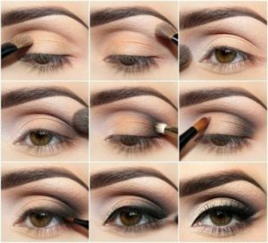 Maquillage nude yeux marron tuto