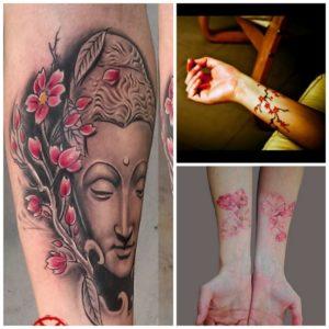 Tatouage japonais fleur de pivoine