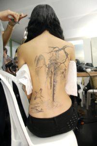 Tatouage japonais traditionnel
