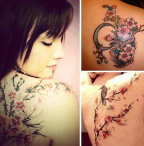 Tatouage japonais rose