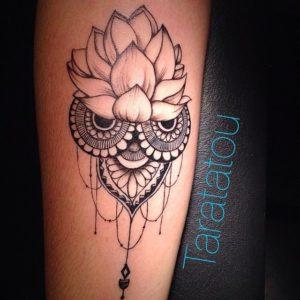 300 Idées De Tatouages Mandala Homme Femme Signification