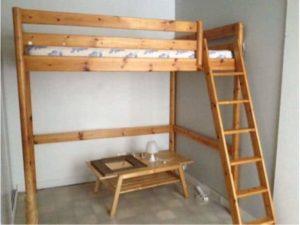 Lit mezzanine 2 places