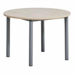 Table de cuisine ronde 4 pieds