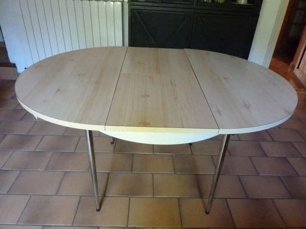 Table de cuisine ronde comparatif 2020 des meilleures - Table cuisine avec rallonge ...