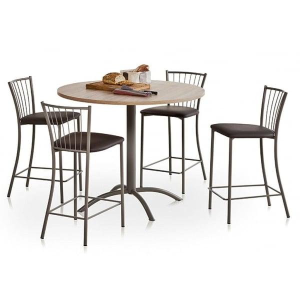 Table de cuisine ronde comment la choisir - Table ronde pour cuisine ...