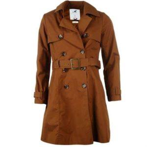 Trench coat femme marron
