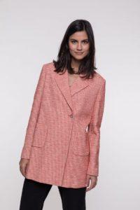 Trench coat femme rose