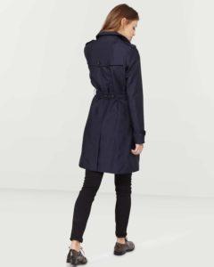 Trench coat femme noir