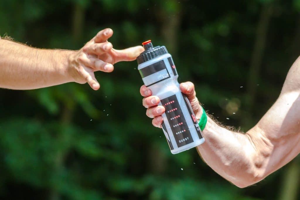 Une bouteille utilisée par tous