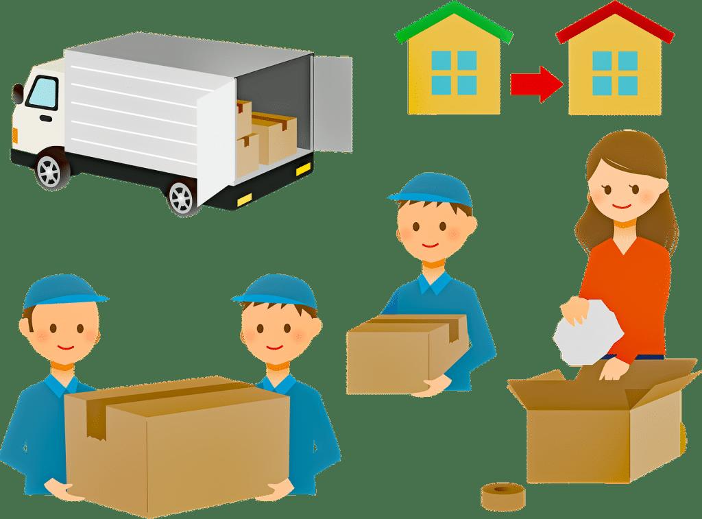 les aides au déménagement de particulier