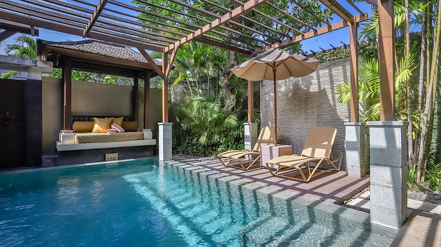 La piscine est incontournable pour les vacances