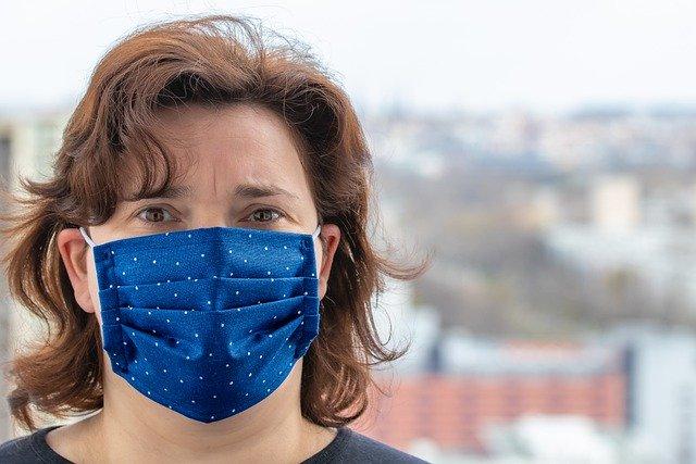masque personnalise Coronavirus