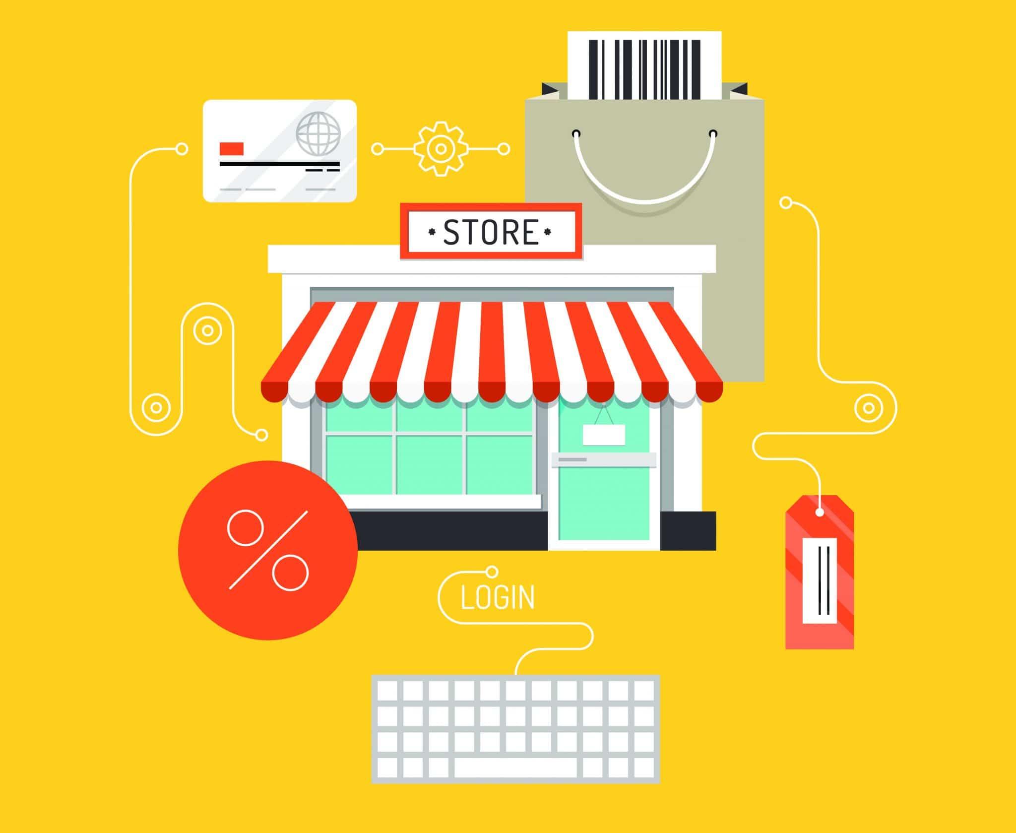 virtual store c'est quoi